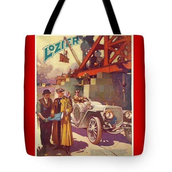 Lozier Advertisement Tote Bag