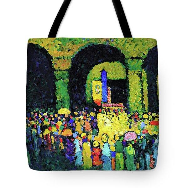 Ludwigskirche Munchen - Digital Remastered Edition Tote Bag