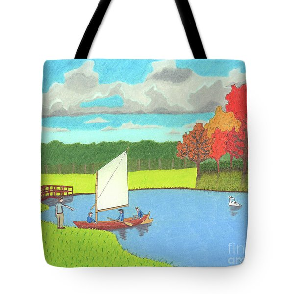 Testing The Waters Tote Bag