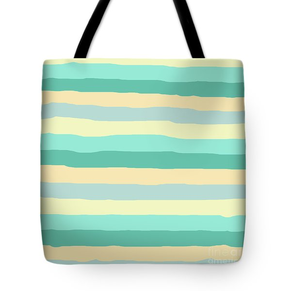 lumpy or bumpy lines abstract and summer colorful - QAB271 Tote Bag