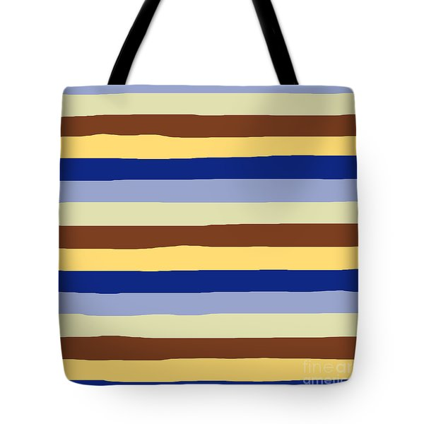 lumpy or bumpy lines abstract and summer colorful - QAB277 Tote Bag