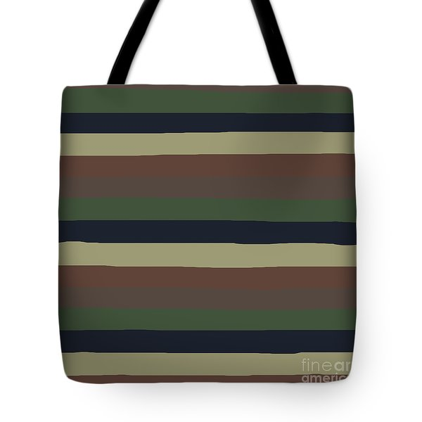 Army Color Style Lumpy Or Bumpy Lines - Qab279 Tote Bag