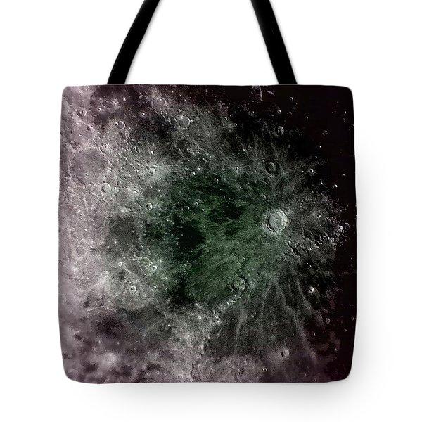 Lunar Crater Tote Bag