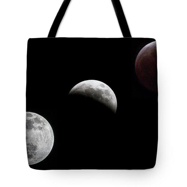 Lunar Eclipse Tote Bag