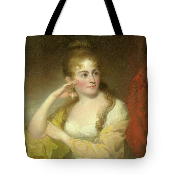Portrait Of Lydia Leaming, 1806 Tote Bag