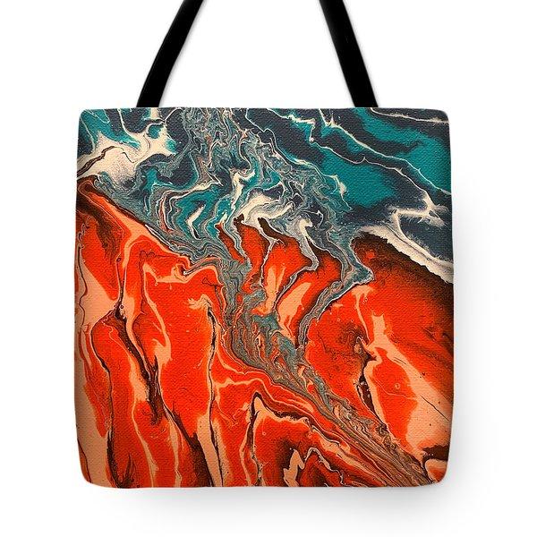 Lydian Descending Tote Bag