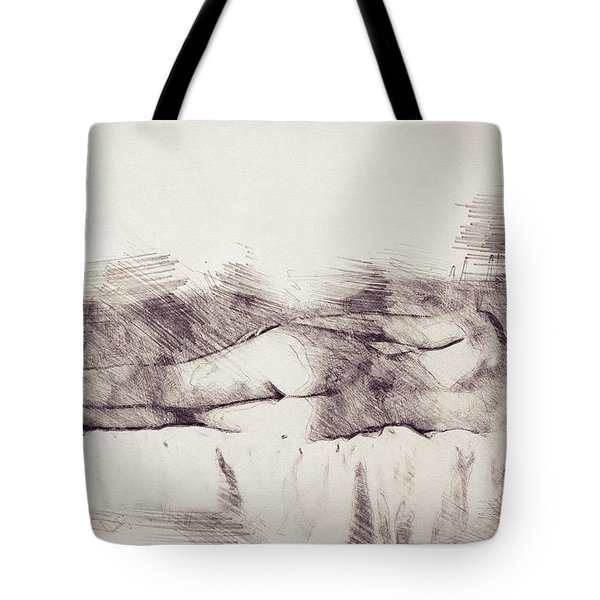 Lying On The Bed Tote Bag