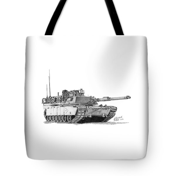 M1a1 B Company 2nd Platoon Tote Bag