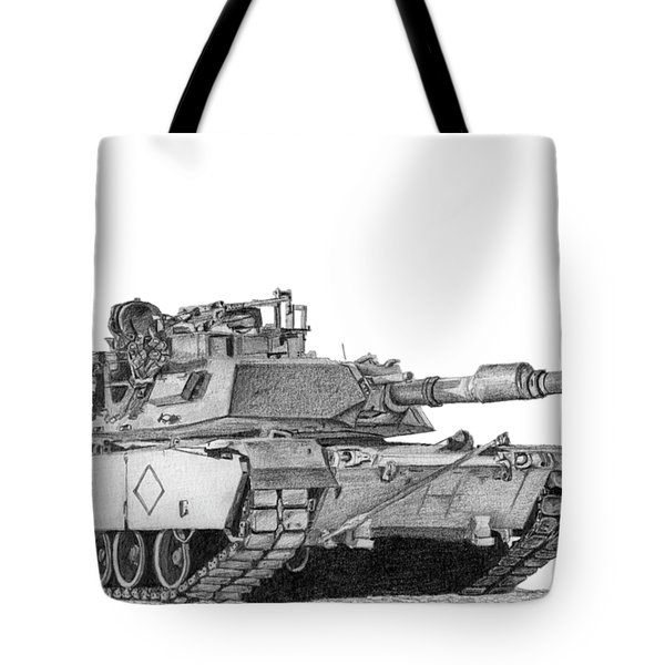 M1a1 Battalion Commander Tank Tote Bag