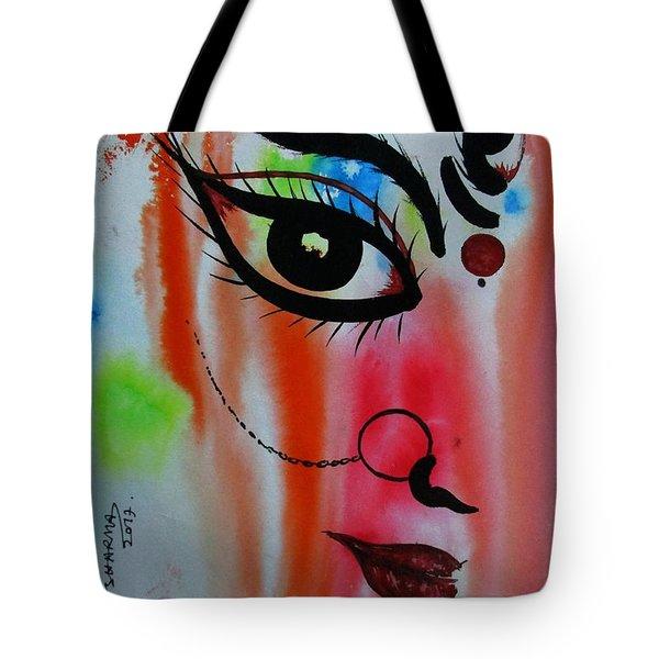 Ma Durga-5 Tote Bag