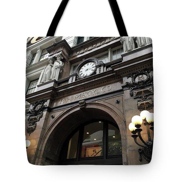 Macys Herald Square Nyc Tote Bag