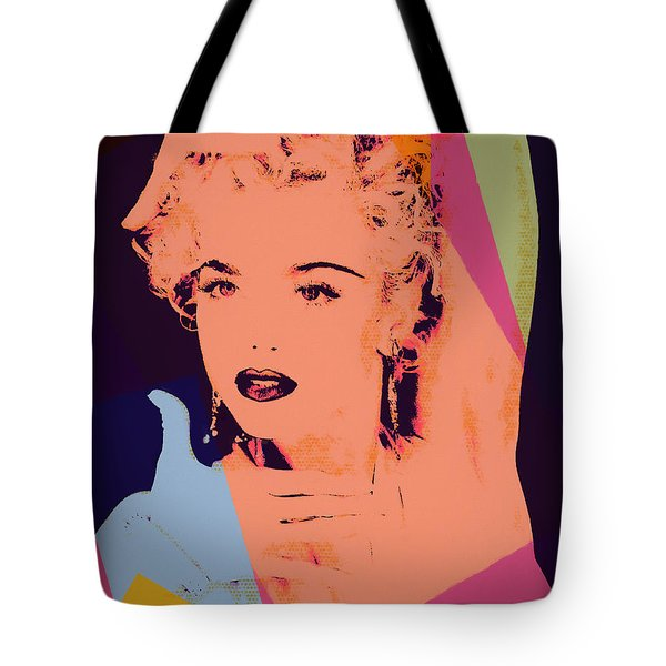 Madonna Pop Art Pose Tote Bag