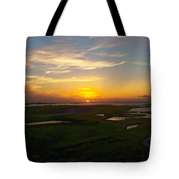 Maggies Cove Sunset Tote Bag