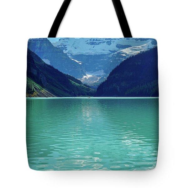 Magic At Lake Louise Tote Bag