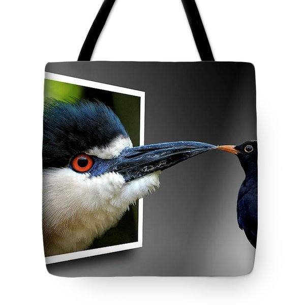 Magic Mirror On The Wall Tote Bag