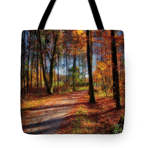 Magic Of The Forest Tote Bag