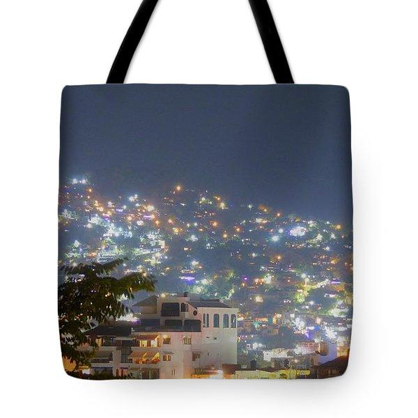 Magic Of Zihuatanejo Bay Tote Bag