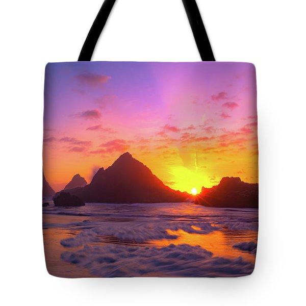 Magic On The Oregon Coast Tote Bag
