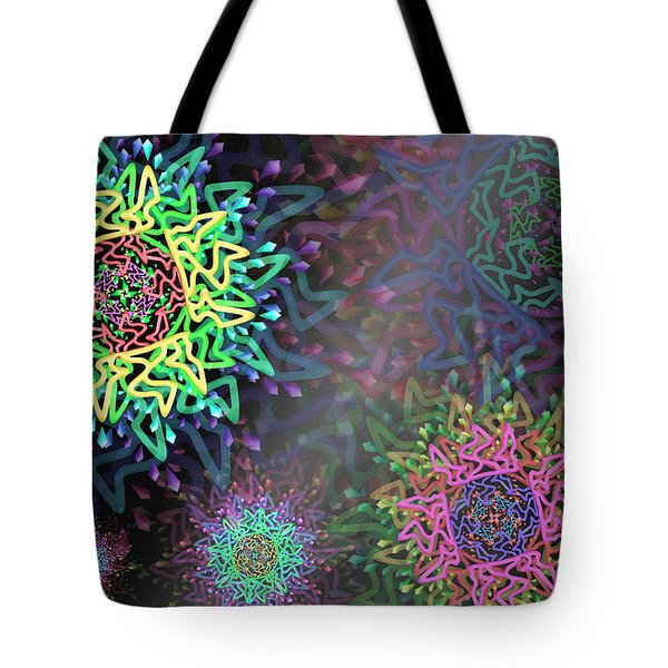 Tote Bag featuring the digital art Magic Remix Two by Vitaly Mishurovsky