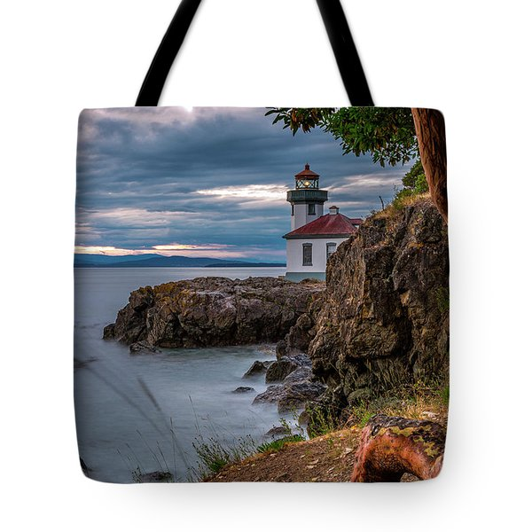 Magic Sunset - Lime Kiln Light Tote Bag