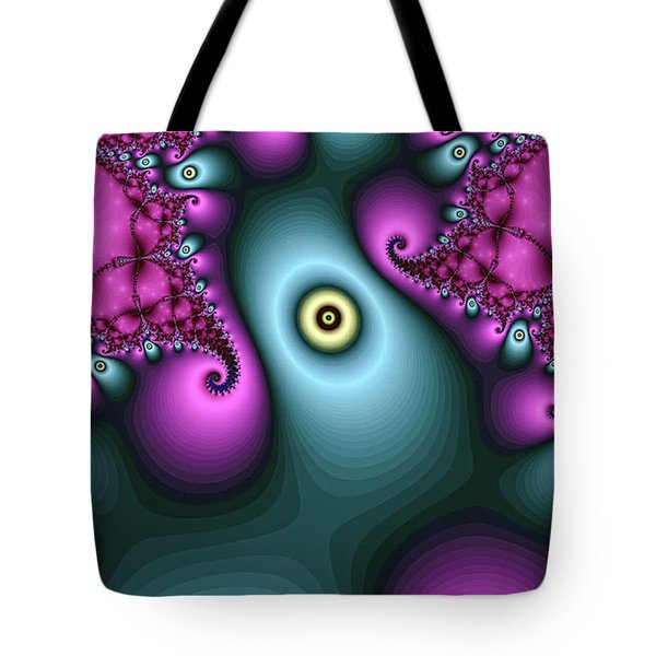 Magical Abstract Pink Art Print Tote Bag