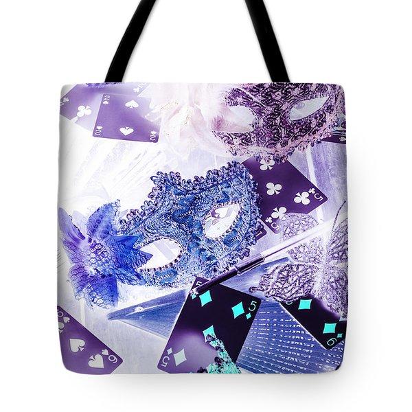 Magical Masquerade Tote Bag