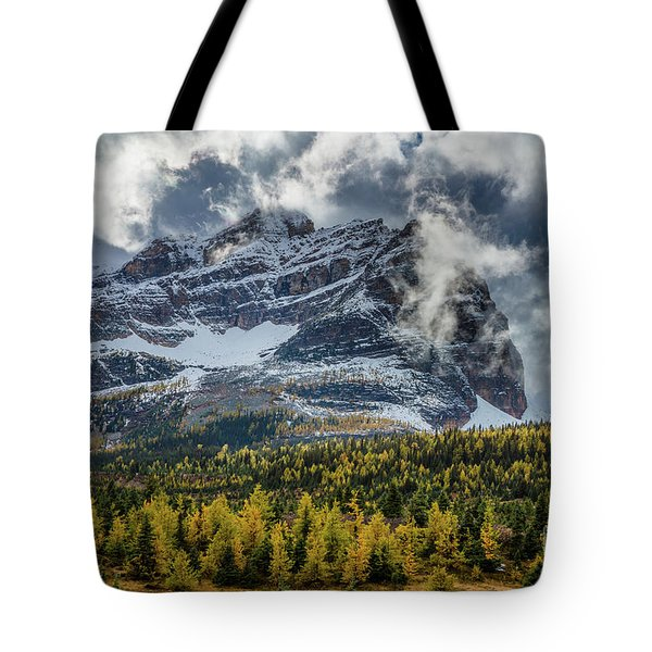 Magical Mountain Clouds Tote Bag