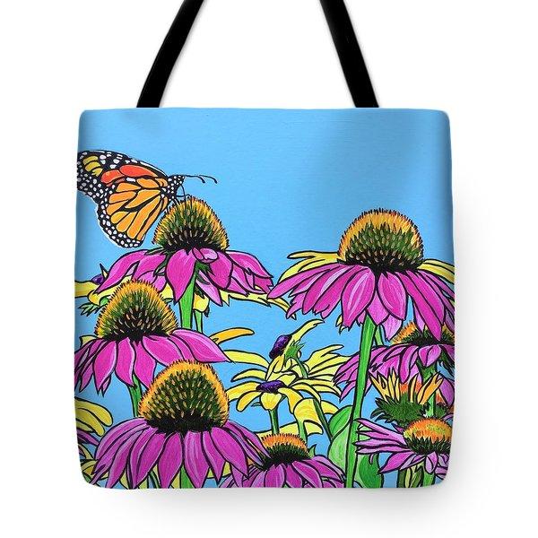 Magnificant Monarch Tote Bag
