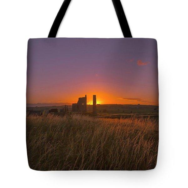Magpie Mine Sunset Tote Bag
