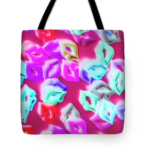 Making Out A Sensual Scene Tote Bag