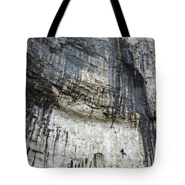 Malham Cove Climbers Tote Bag