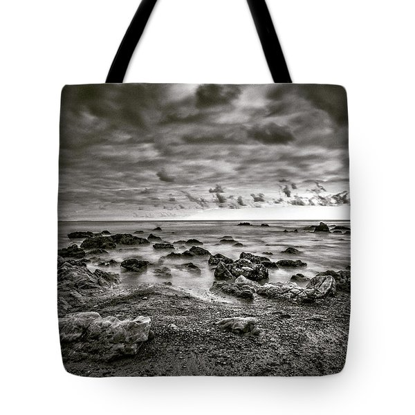 Tote Bag featuring the photograph Malibu Clouds by John Rodrigues