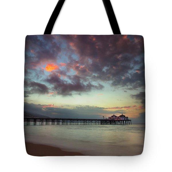 Malibu Pier IIi Tote Bag
