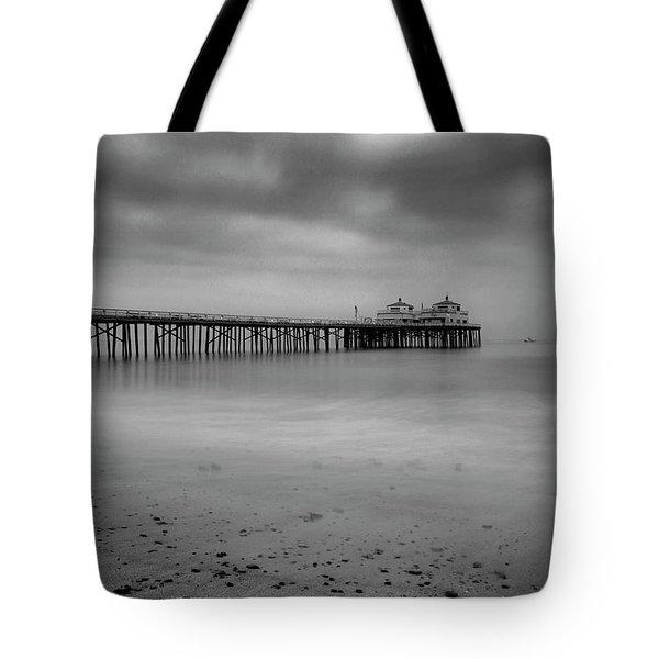 Malibu Pier Tote Bag