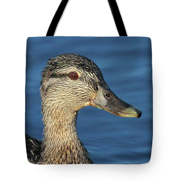 Mama Black Duck Tote Bag