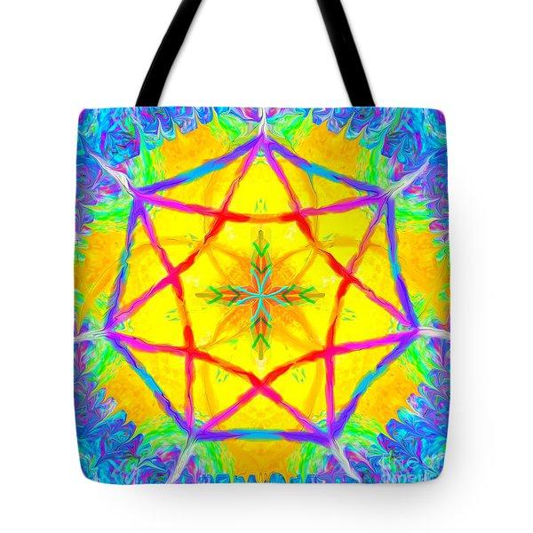 Mandala 12 9 2018 Tote Bag