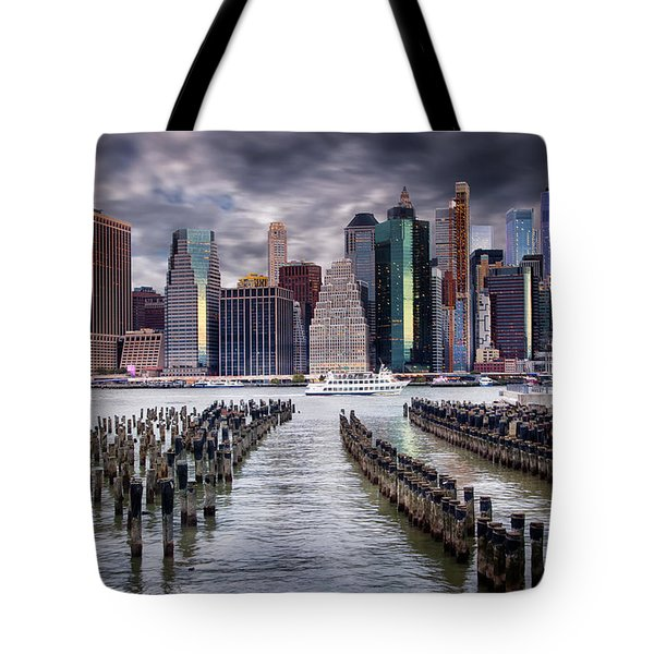 Manhattan Skyline Tote Bag