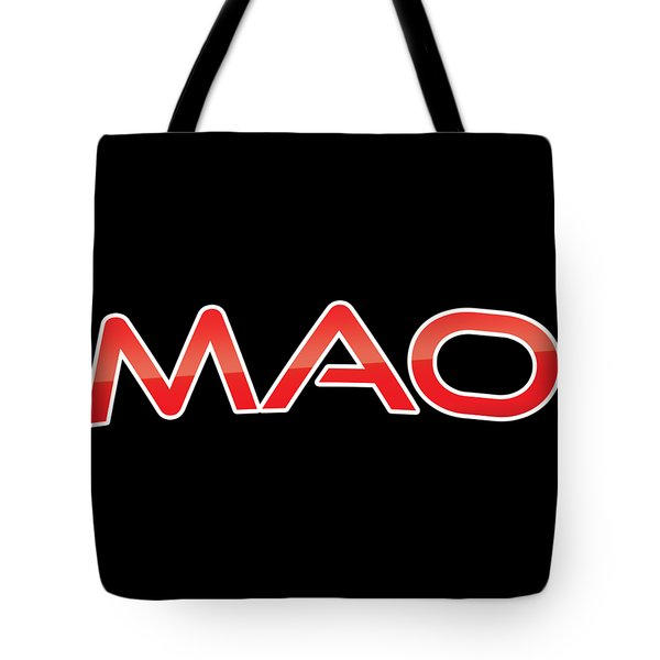 Tote Bag featuring the digital art Mao by TintoDesigns