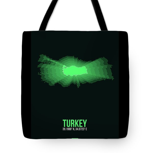 Map Of Turkey 2 Tote Bag