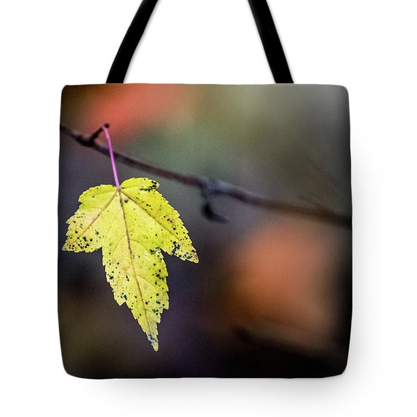 Tote Bag featuring the photograph Maple Flag by Michael Arend