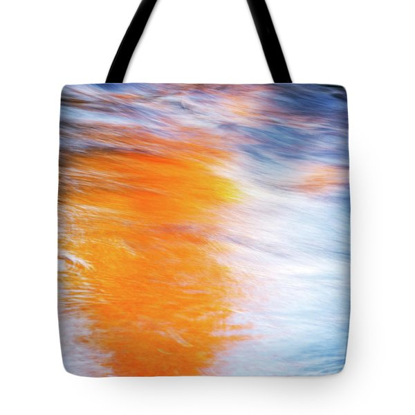 Maple Reflection Fall Tote Bag