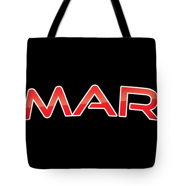 Tote Bag featuring the digital art Mar by TintoDesigns