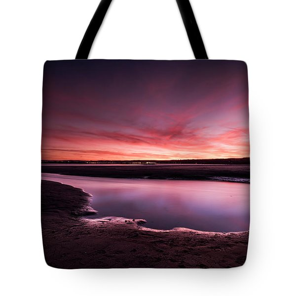 Marazion Sunset Tote Bag