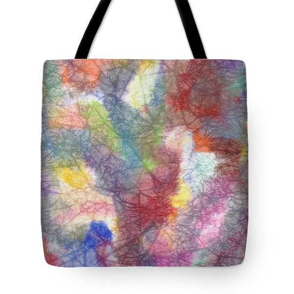 Marble Abstraction Tote Bag