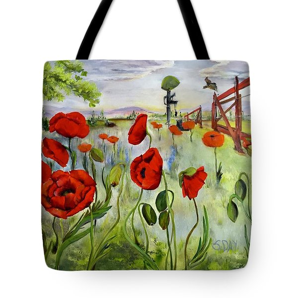 March With You Tote Bag