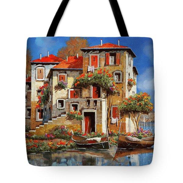 Mareblu-tetti Rossi Tote Bag