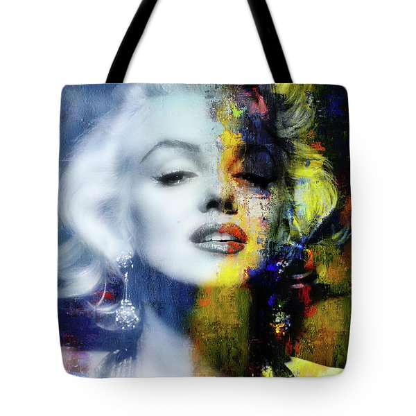 Marilyn Duality Tote Bag
