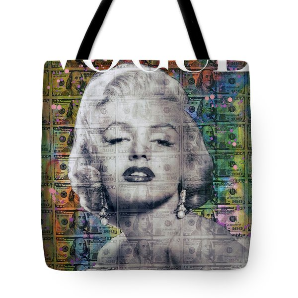 Marilyn In Vogue Style Tote Bag