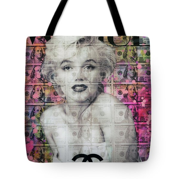 Marilyn Remembered Tote Bag