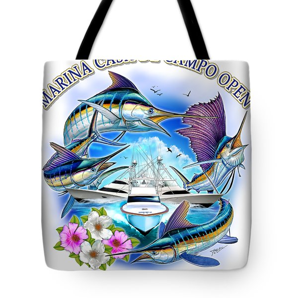 Marina Casa De Campo Open Art Tote Bag